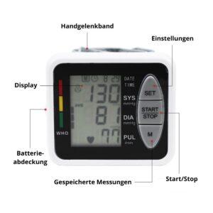 Blutdruckmessgerät Anleitung
